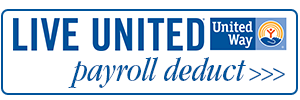 United Way Payroll Deduct Button