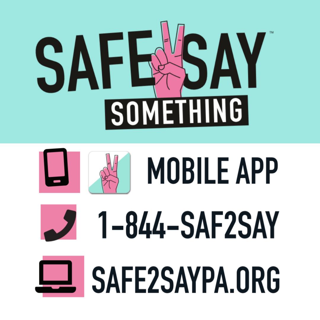 Safe2Say Something PA